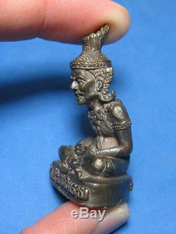 0250-thai Buddha Amulet Talisman Pu Sing Saming Pray Lp Kalong Wat Khao Lam 2550