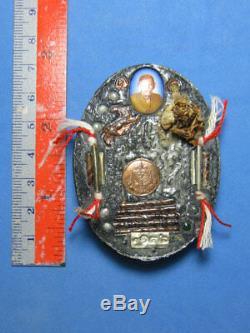 0333-thai Buddha Amulet Talisman Pech Phaya Thorn Charm Love Lp In Wat Nong Meg