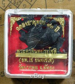 1 of 88 Singha Wood carve Phra LP Chay Wat BakPol Buddha Thai Amulet Talisman