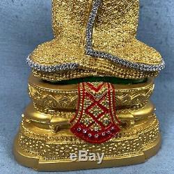 10.5 Bucha Statue Phra kaew morakot LEK NAM PEE Thai Buddha Amulet Talisman #