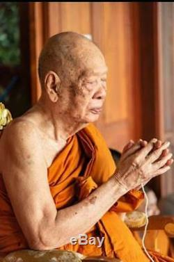 100% Genuine LP Paew Thai Magic Amulet Buddha Powerful lucky Talisman Pendant