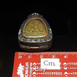 100% Genuine PHRA PIDTA LP TOH Closing Eye Buddha Thai Amulet Luck Rich Thailand