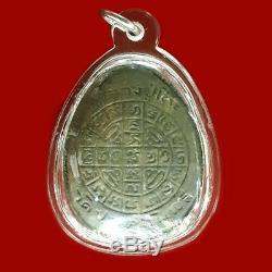 100% Genuine Phra Pidta Closing Eye Amulet Pim Jumbo LP Toh Thai Magic Buddha