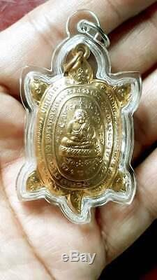 100% Genuine from Temple Amulet Powerful Lucky Money LP LIEW Thai Magic Buddha