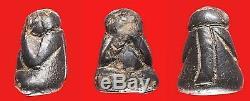 100% Thai Buddha Amulet Pra Pidta LP Keaw Wat Kerwan