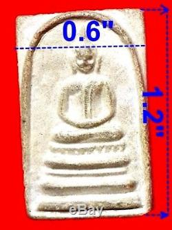100% Thai Buddha Amulet Pra Somdej LP Pae Longpim Wat Pikulthong 1951
