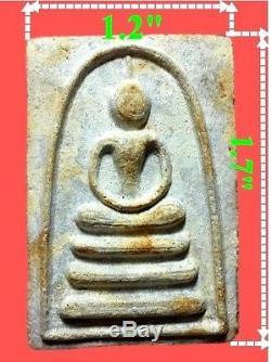 100% Thai Buddha Amulet Pra Somdej LP Pae Sampun Wat Pikulthong 1969