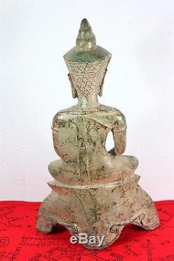 11 Statue Worship Phra Chai Bucha Thai Buddha Amulet