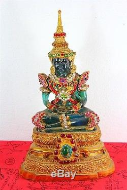 11 Statue Worship Phra Kaew Morakot Thai Emerald Buddha Amulet