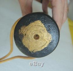12.5 RICH BIG Paladkik Sak-ga-ber Yantra LP HOK OLD Thai Buddha Amulet