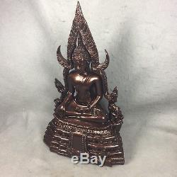 12 LEK NAM PEE Phra Phuttha Chinnarat Buddha Statue Fetish Thai Amulet worship