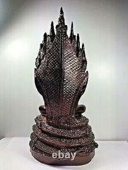 12 Lek Nam Pee Phra Nakprok Buddha Statue Luck Rich Magic Talisman Thai Amulet$