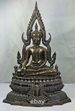 12 Magic Chinnaraj Lek Nam Pee Bucha Buddha Statue Wealth Talisman Thai Amulet