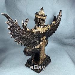 12 Phaya Krut Garuda Bucha Statue LEK NAM PEE Thai Buddha Amulet Talisman