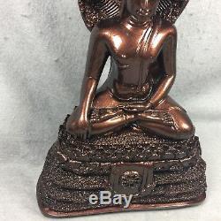 14 LEK NAM PEE Phra Nak Prok Naga Buddha Statue Fetish Thai Amulet worship