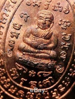 15360 Thai Amulet Turtle Pendant Sukjai Sankajai Good Happiness Buddha Liew 2537