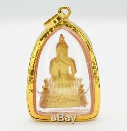 22k Yellow Gold Thai Amulet Buddha Charm Pendant 5.02grs