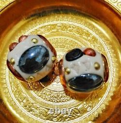 2pcs Leklai Thai Amulet Lp Somporn Protect Buddha Heal good Protect Lucky Takrut