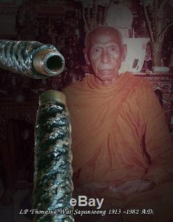 3.5 Takrut Buddha Lp Aium Lp Klin Lp Thongsuk Thai Amulet Takrud Watsapansoong