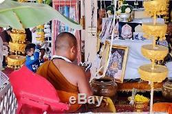 3D Coin /925 Solid Silver, Thai Buddha Amulet Lp. San (Wat Ban nong jik) Rare