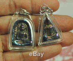 5 TOP SKY Leklai Benjapakee Phra Somdej Best set of Pendant Thai Buddha amulet