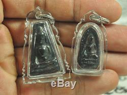 5 TOP SKY Leklai Benjapakee Power Phra Somdej set of Pendant Thai Buddha amulet