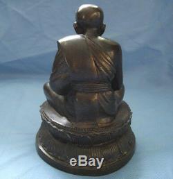 7.5Statues Worship Bucha Phra LP Tuad Wat Chang Hai Buddha Thai Amulet Talisman