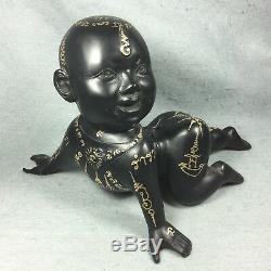 7 Kuman Thong Phra Voodoo Doll Boy Spirit Magic Amulet Thai Buddha talisman