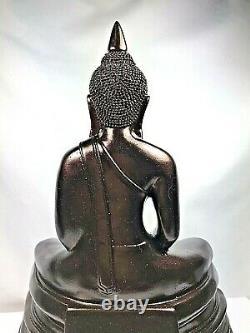 9.5 Magic Sothorn Lek Nam Pee Bucha Buddha Statue Wealth Talisman Thai Amulet