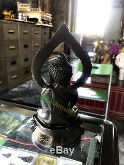 9015 Buddha Statue Bronze Thai Amulet Pra-kring Watsutad 108 Monks Shake Sound