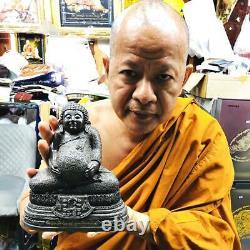9721-large Sankajai Happy Buddha Meditation Thai Amulet Fast Rich Lp Pern Statue