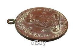 A Coin Is Lp Klan Wat Phayat Karam Thailand Create B. E. 2478 Thai Buddha Amulet
