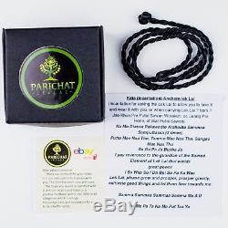 A+ LEKLAI PRAYA KAEW CUT By magic lucky thai buddha amulet protect Rare LP 853