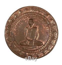 A coin LP PHROM, Wat Chong Kae, Generation MahaLap, B. E. 2516, Thai Buddha Amulet