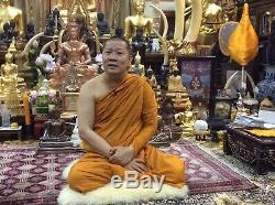 ASURA RING LP THONGCHAI WAT TRIMIT SILVER 925 Thai BUDDHA Amulet REAL RARE