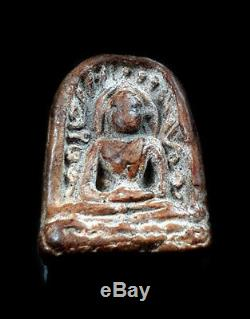 Ancient Amulet Thai Buddha Phra Sum Kor Kru Kamphaeng Phet Good Holy For Lucky