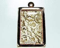 Ancient Thai Amulet Phra Somdej Rakang Back Kanok Best Buddha's grace Sacred Old