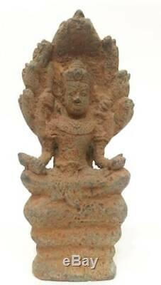 Antique Statues Naga Buddha Bronze Bayon Angor Khmer Lopburi Thai Amulets