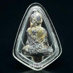 Antique Thailand RARE PHRA KRU STATUE AYUTTHAYA PERIOD Laos & Thai Amulet Buddha