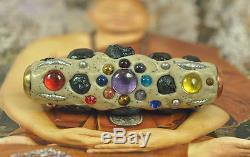 BIG Takrut Leklai Palanglokatad 59 TYPE LP Somphon Somporn Thai Buddha Amulet