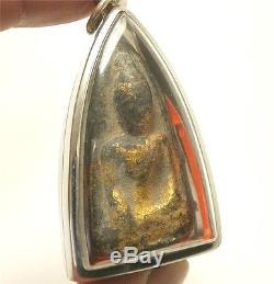 Beautiful Magic Antique Thai Buddha Amulet Lucky Money Wealth Perfect Happy Life