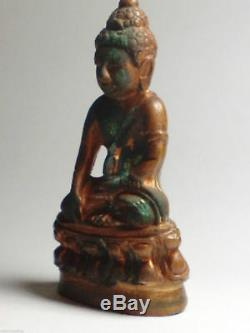 Bell Buddha Phra Thai Amulets PHRA KRING WAT BOWON Bangkok TH Luang Phor Blessed
