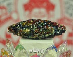 Best LEKLAI King Phaya Kod Phee 7 Kaew Thai Buddha Jewel Rainbow Amulet talisman