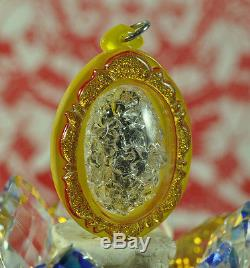 Best LEKLAI King Phaya Kod phee Kaew Lp Somporn Thai Buddha metal Amulet Pendant