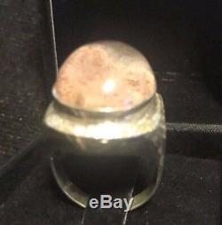 Buddha Huge Summoned Kaew Power Talisman Thai Amulet Money Ring Size 7 Leklai