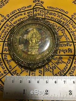 Buddha Jutukam Ramathap Real Talisman Genuine Wealth Money Thai Amulet Pendent