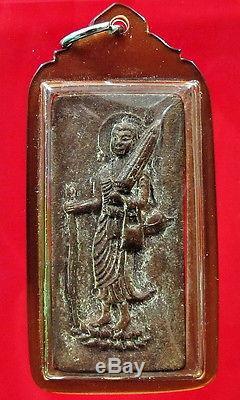 Buddha'LP Boon Pim Siwalee' Figure Thai Amulet Charm Talisman Waterproof Case