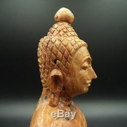 Buddha Pratan Perfect Texture Stone Buddha Stone Relics 300 Yhod Thai Amulet