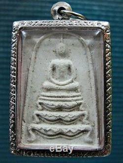Buddha'Somdej Pim Tharn Sing' Figure LP Pae BE2515 Thai Buddhist Charm Amulet