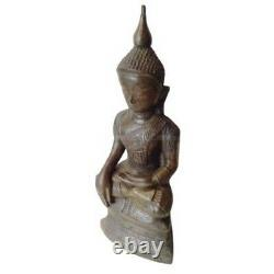 Buddha Statue Chiangrung Style Thai Laos Amulet Bucha Lucky Charm Figure 12